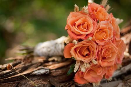 عکس دسته گل لاله عروس