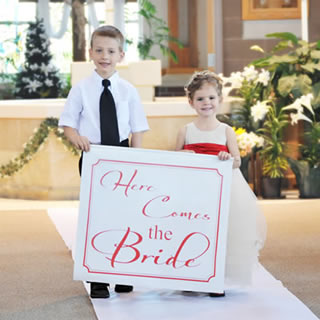 Wedding Ring Bearer Sign